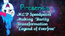 MLP Speedpaint | Flurry Heart Transformation Legend Of everfree