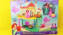 Château agrafe poupées petit la magie Magie moi moi sirène sœurs le le le le la jouet sous-marin Ariel playset ariels