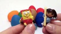 Huevos huevos huevos Explorador Niños secuaces monstruos Nuevo jugar princesa sorpresa el juguetes Doh dora disney