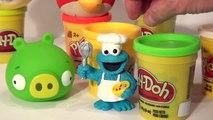 En colère banane des oiseaux biscuit vert aide faire faire monstre porc jouer le le le le la la télé Doh fr