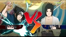 NARUTO Ultimate NInja STORM - CS2 Sasuke vs CS2 Kimimaro