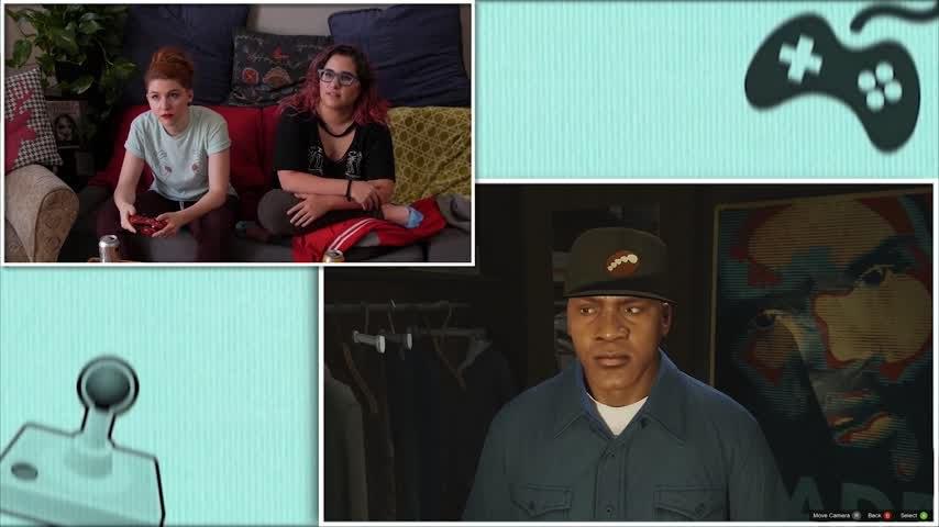 Let's Play GTA 5 Pt 3: Funny Girls Fail at Dressing a Man // Rad Gaming   Snarled