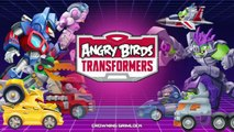 Et en colère bataille des oiseaux complet de de paquets ré Ensemble unique transformateurs Double télépodé