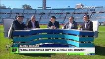 Horacio Pagani- -si Argentina pierde va de cabeza al mundial, dejen de joder-
