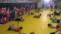 Спаринг за чемпиона против 2 соперников #UFC Motivational Video / Mixed Martial Arts MMA #
