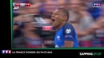 Zap Sport du 01 septembre - Foot : La France écrase les Pays-Bas