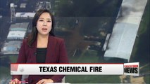 Chemicals catch fire at plant flooded by Hurricane Harvey