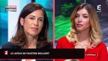 Ça commence aujourd'hui : Faustine Bollaert fait un lapsus hilarant (vidéo)