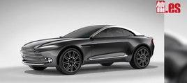 VÍDEO: Aston Martin DBX, mira su diseño definitivo