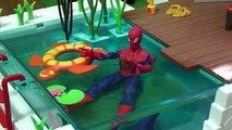 Piscine homme araignée la natation toys1 jouets Spiderman jeu de billard