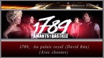 1789, Les Amants de la Bastille - Au palais royal KARAOKE / INSTRUMENTAL