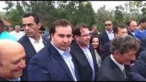 Presidente da Câmara dos Deputados, Rodrigo Maia, visita o Espírito Santo