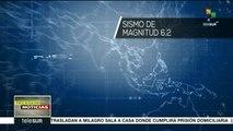Sismo de 6,2 grados sacude las costas de Indonesia