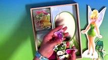 Fée Clochette en bois magnétique mode poupées par fées mélanger et rencontre Robe