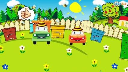 Carros para niños - Excavadoras - La Grúa - La Excavadora