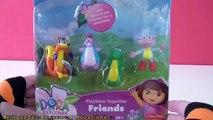 Un et un à un un à jumeaux Dora voiture jouet daventure avec des jumeaux Dora épisode aventureux en portugais