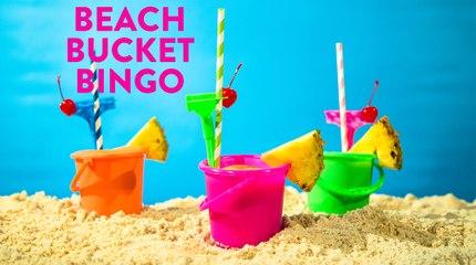Beach Bucket Bingo Frozen Drink Recipe