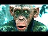 La Planète des Singes 3 : Suprématie Bande Annonce Finale (2017)