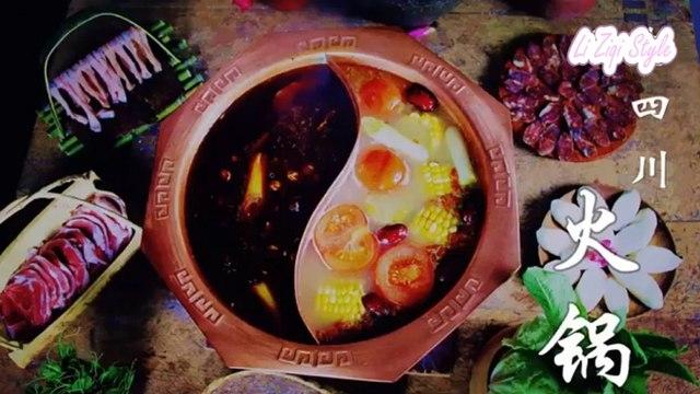 How to make Couple Hot Pot - Sichuan Hot Pot | Chinese Food | Li zi qi 李子柒