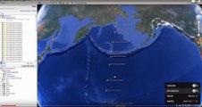 Le plus long mur de la terre découvert sous les océans, il fait presque la moitié de la Terre !
