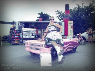 Nina and the Pink Cadillac at Bike & Music Weekend 2017 in Geiselwind