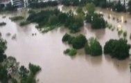 """La tormenta """"Harvey"""" baja intensidad, pero la tormenta """"Lidia"""" se aproxima a México"""