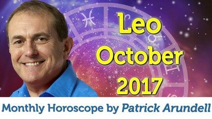 Leo October 2017 Horoscope