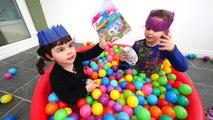 Balle les meilleures enfants ce qui les couleurs des œufs pour enfants Apprendre apprentissage fosse les tout-petits surprise