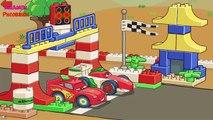 Y caricaturas sobre coches coches coches VILS rayo caliente makvin AGV poli muchos de los nuevos ma