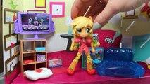 Equestria Girls Minis - Applejack, Fluttershy, & Rarity!   My Little Pony Figures   Bins