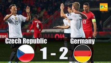Czech Republic vs Germany 1-2 - All Goals & Highlights - 1-09-2017 HD