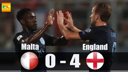 Malta 0 England 4: Harry Kane double and late flurry put the gloss on torpid performance