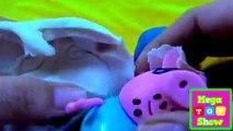Bébé enfants les couleurs poupée des œufs la famille doigt Apprendre porc jouer Portugais contre Doh Peppa em