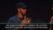 "GP d'Italie - Hamilton : ""Je suis un grand fan de Ferrari"""