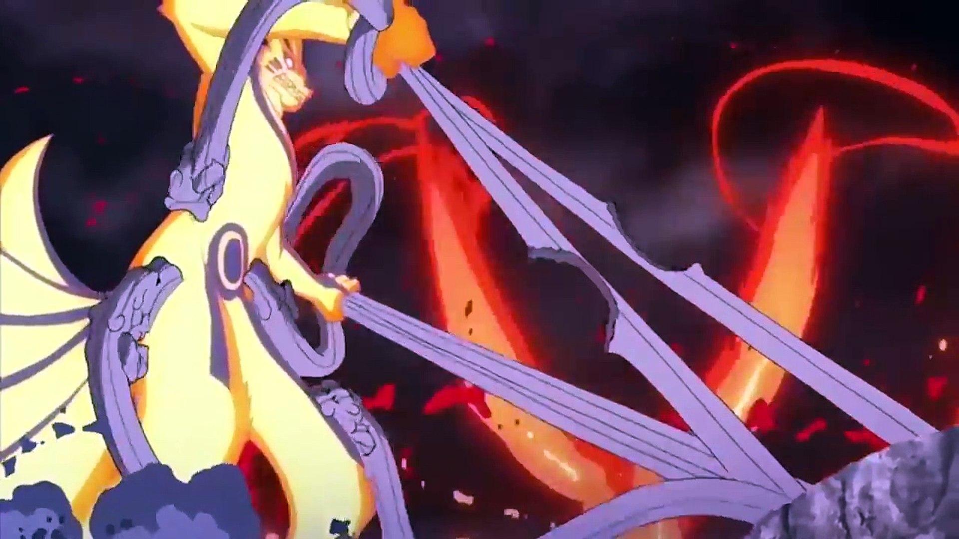 Five Kages Sasuke Naruto And Boruto Vs Momoshiki And Kinshiki Video Dailymotion