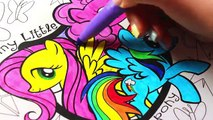 My Little Pony Coloring Book Twilight Sparkle Pinkie Pie Applejack Rarity Fluttershy Rainb