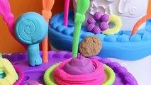 Cumpleaños pastel el Delaware por Feliz montaña jugar Jugar-doh juego dulce doh shoppe tarta cumpleañ