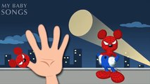 Homme chauve-souris la famille bats toi doigt homme de fer monstres souris chanson homme araignée mickey