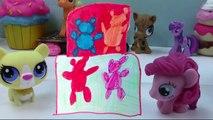 Playdoh Rainbow Gummy Bear Cake My Little Pony Pinkie Pie Fashems Littlest Pet Shop Fun Fo