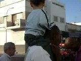 Nolan et son tonton Karim au Maroc