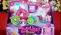 Princesse zubls Princesse chariot Unicorn déballage Zoobles