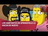 """Los Simpson hacen parodia de """"Los XV años de Rubí"""""""