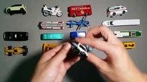 Et des voitures pour enfants apprentissage des noms Nouveau des sons rue camions Véhicules avec tomica
