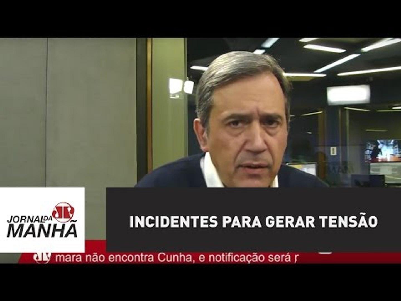 Estão criando incidentes para gerar tensão na cidade | Marco Antonio Villa