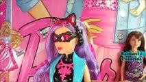 Cambrioleur chat poupée espion équipe barbie barbie mystère équipe espion félin doll