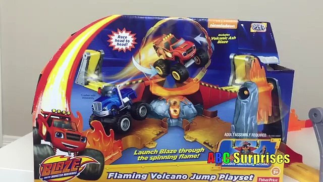 BLAZE AND THE MONSTER MACHINES Surprise Egg ⚡Blaze Monster Truck Surprise Toys ⚡by Epic To