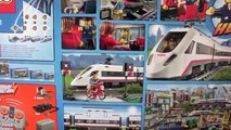 Lego High Speed Passenger Train 60051 with Train Station 60050 Unboxing Build Review