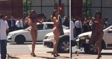 Sexy Babes In Bikinis Cause A Distracted Driver To Crash His Car