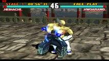 tekken 3 heihachi vs hwoarang superb fight action game match #5 pakistan trailer