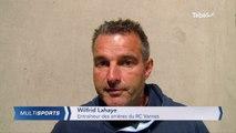 Rugby (Pro D2).  RC Vannes - Soyaux-Angoulême (28-14) : la réaction de Wilfrid Lahaye